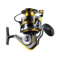 Fish Reel All-metal Fishing Spinning Wheel Gapless Rheel Long Shot