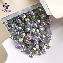 Free Shipping 1440psc Round Shape Flatback Loose Crystal Hot Fix Rhinestones AB SS16