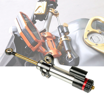 Universal Motorcycle Accessories Adjustable Steering Stabilize Damper Safety Control FOR YAMAHA FZ09 MT-09 FZ07 MT-07 FZ-10 MT10