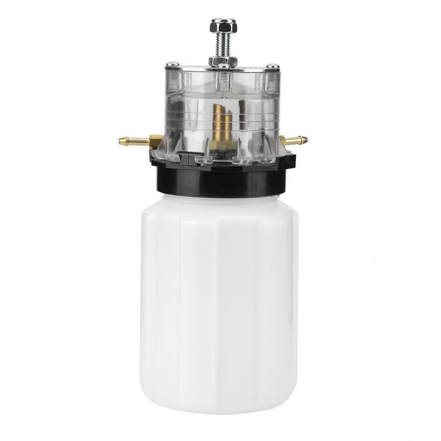 Leite de plástico pote de óleo pode para vaca ovelha cabra máquina de ordenha bomba de vácuo acessório máquina de ordenha pote de óleo fazenda eqipment