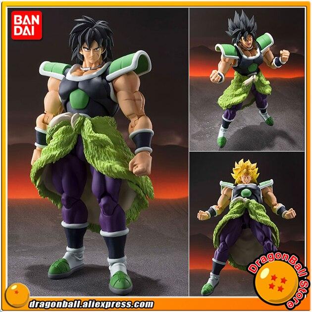 "Spiritueux BANDAI ""Dragon Ball SUPER"" Tamashii Nations S.H. Figurine de figurine SHF, Broly Super"