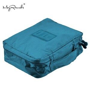 Image 4 - Violaceo blu Kit di Casa il Sacchetto di Corsa Esterna di Primo Soccorso Piccola Trattamento Medico della Scatola di kit Di Sopravvivenza Di Emergenza di Campeggio Esterna