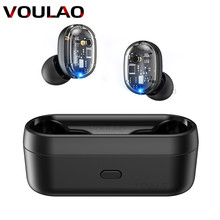 Wireless Headphones Bluetooth V5.0 TWS Earphones Touch Control 9D Ster