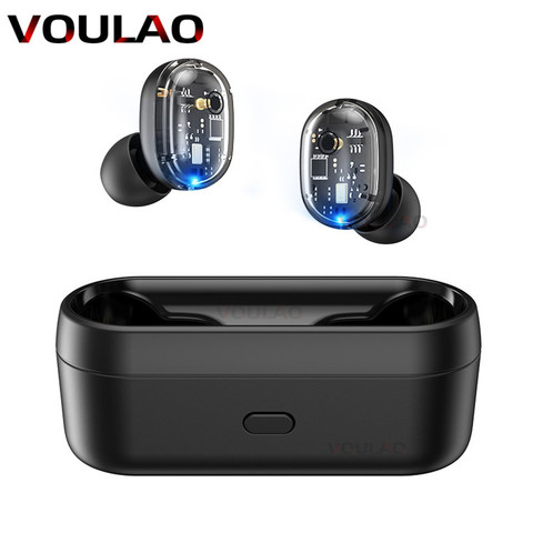 Wireless Headphones Bluetooth V5.0 TWS Earphones Touch Control 9D Stereo Bass Earbuds For IOS Android Fone de ouvido bluetooth Pakistan