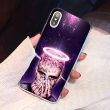 Soft Case Covers For iPhone 11 Pro 4 4S 5 5S SE 5C 6 6S 7 8 X 10 XR XS Plus Max For iPod Touch Lil Peep Rap Hip(China)