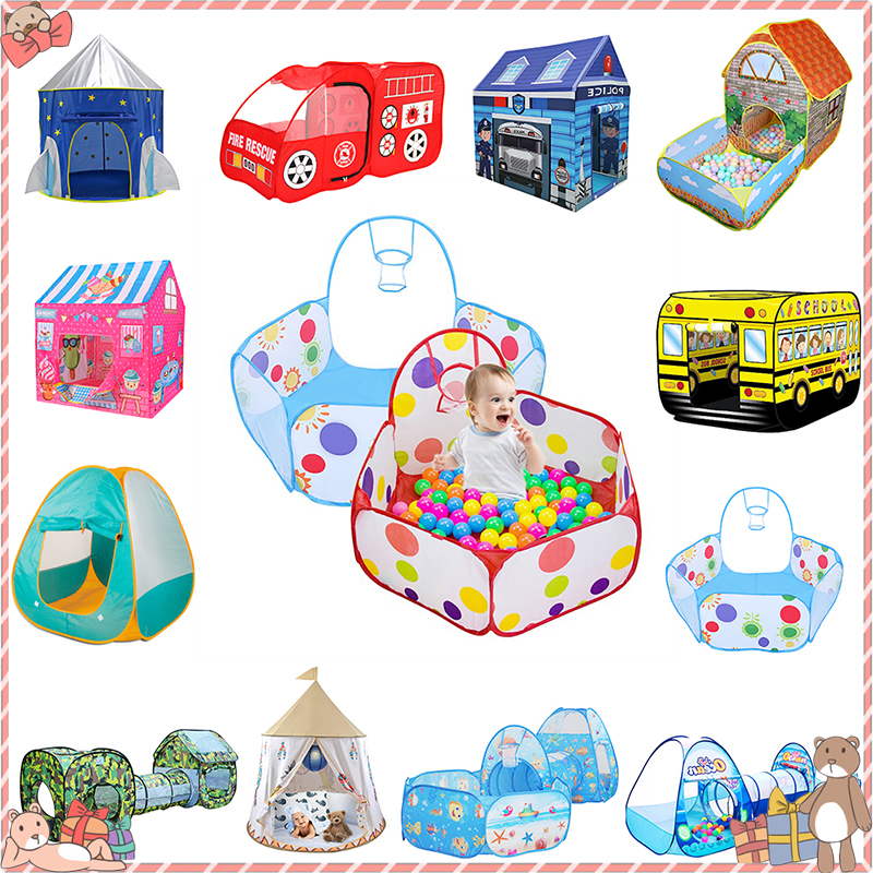 Tents Outdoor Inflatable Ball Pool Boys Girls Kids Children Ball Pit Indoor Play Tent Game House Ocean Pool Toy Birthday Gift(China)