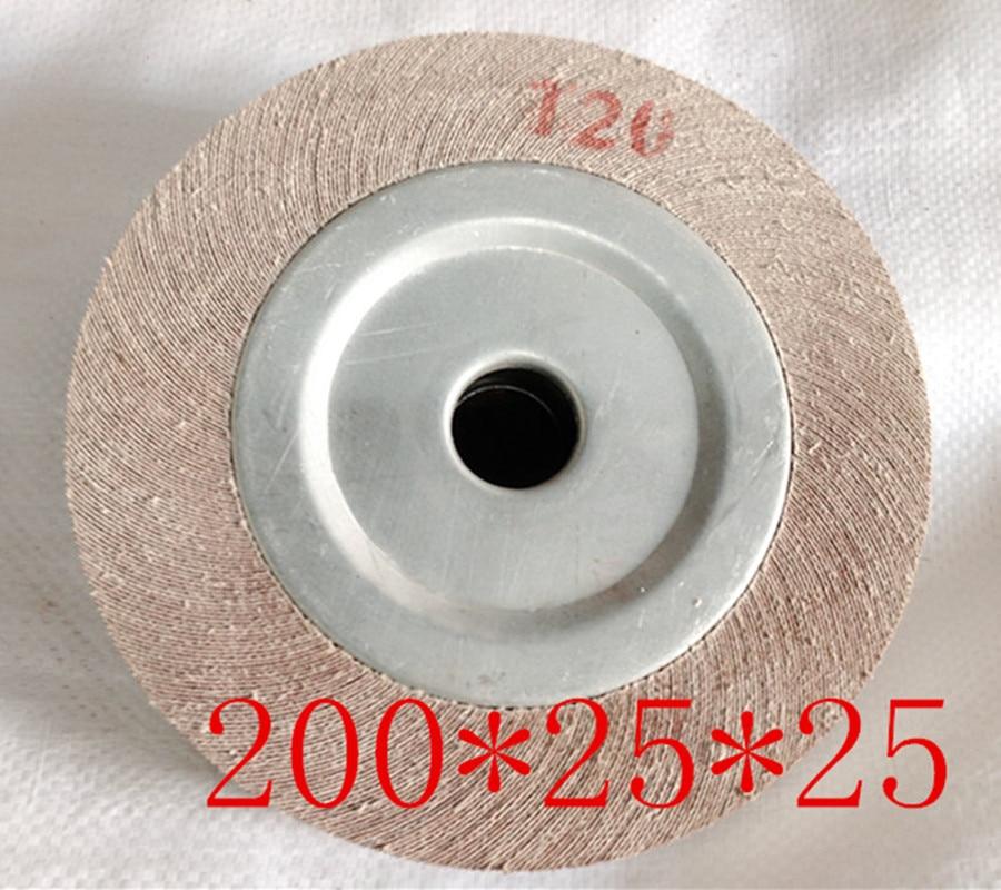 200*25*25mm Abrasive Flap Wheel For Metal Wood Polishing Grinding
