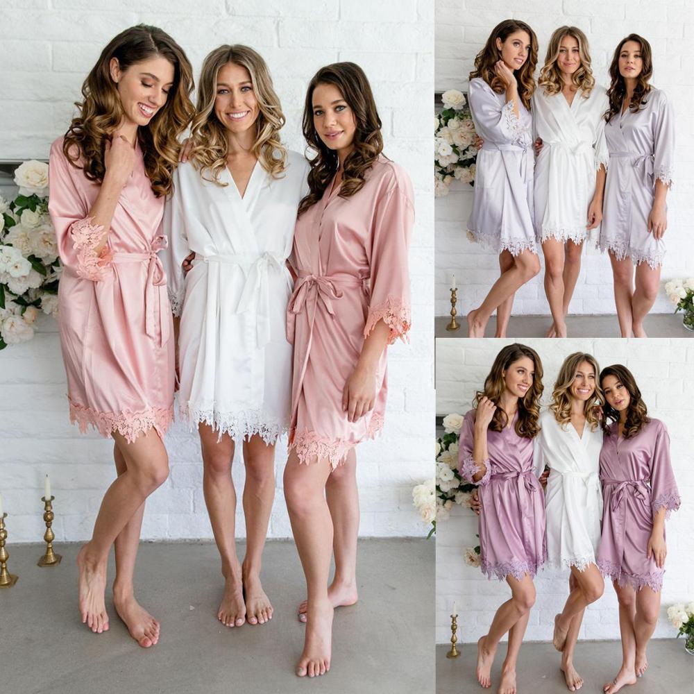 Nouvelle Robe en dentelle, robe en soie, Robes de demoiselle d'honneur, Robe de mariée en dentelle, robe pour femme, robes de mariée A9008