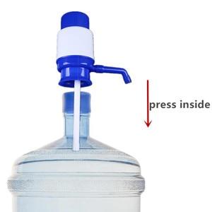 5 галлонов портативный Бутилированная питьевая вода Ручной пресс насос Диспенсер со съемной трубкой вакуумное действие устройство