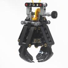 Blocchi di costruzione MOC Technic Parti TECHNIC 4 Sollevamento Artigli compatibile con lego per I Ragazzi Giocattolo