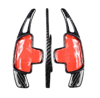 Car Styling Carbon Fiber Steering Wheel Shift Paddle Extension Shifter For Mercedes Benz AMG A45 CLA45 C63 GLA45 GLS63 GLE63 G63 Steering Wheels & Steering Wheel Hubs     -