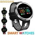 Смарт-часы мужские водонепроницаемые умные часы монитор сердечного ритма кровяного давления для женщин фитнес-трекер GPS Спортивные Наручн...