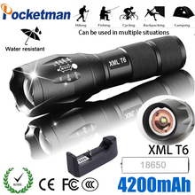 LED Penlight 8000Lm Lamp Samll  Clip 3 Modes Portable Nightlight WT