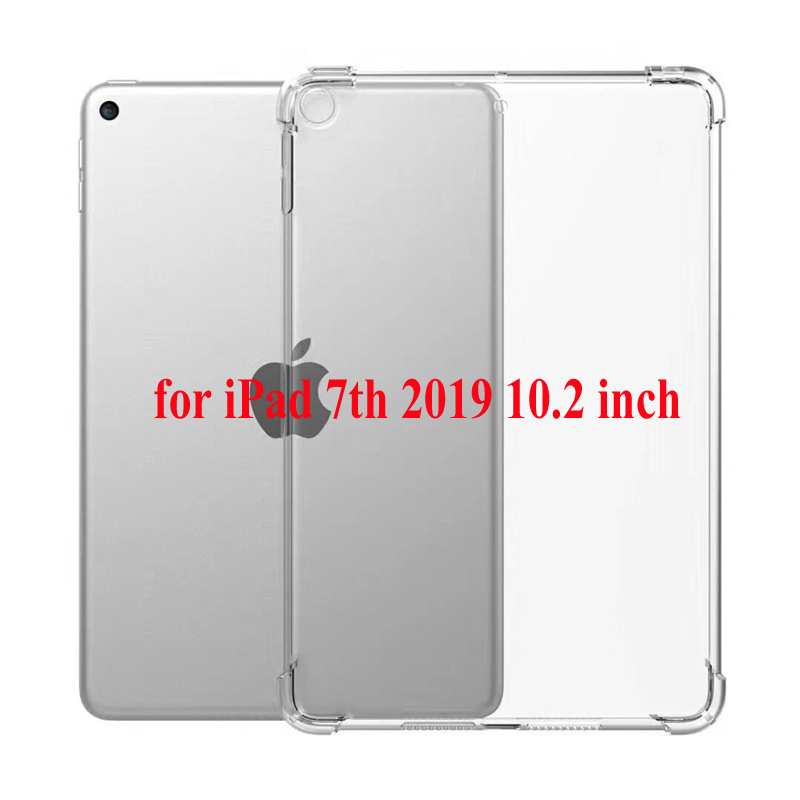 TPU Silver 360 degree rotation Shockproof Kids cover For iPad 8th 2020 7th Gen 10 2 A2200 A2198