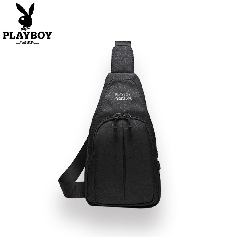 PLAYBOY Men Chest Pack 2019 New Style Korean-style Fashion Casual Shoulder Bag Youth Versatile Waterproof Men's Bag