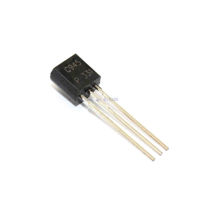 Straight Transistor 2SC945 C945 TO-92 0.15A/50V NPN Type