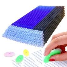 101 Pçs/set Apagável Caneta Refil 0.5 milímetros Azul Tinta Lavável Punho Livro para artigos de Papelaria Escola Escritório Escrita Ferramentas Atacado