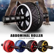 Bauch Rad Roller Core Übung Rad Bauch Rad Für Home Gym Core Festigkeit Körper Form Training Fitness Roller XA129A(China)