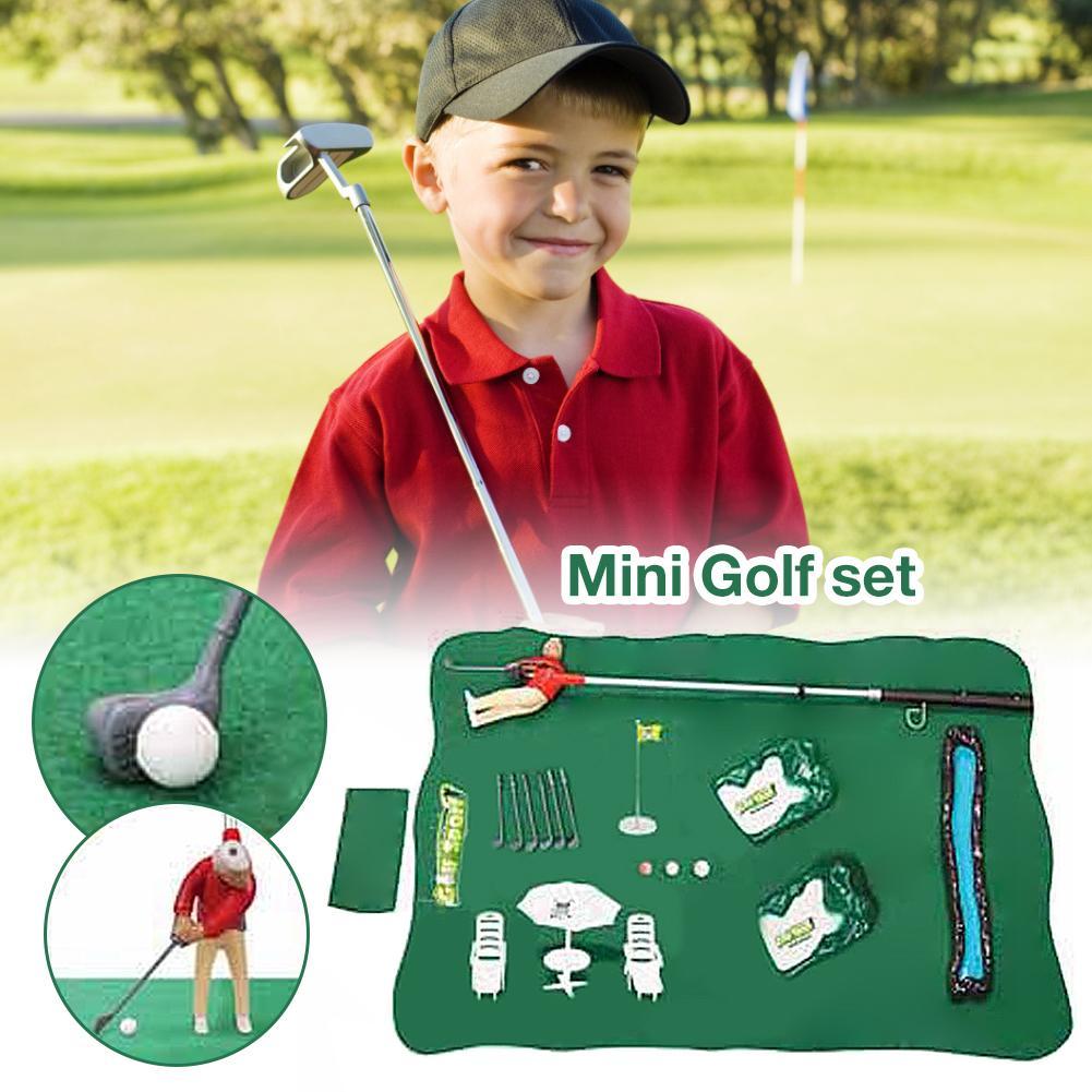 Mini Golf Professional Practice Set Golf Ball Sport Set Children's Toy Golf Club Practice Ball Sports Indoor Games Golf Training 1