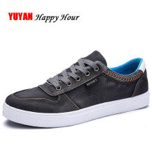 Canvas Shoes Men Low top Fashion Sneakers Thick Sole Breatha