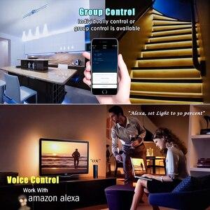 Image 3 - Умная Светодиодная лента RGB, DIY домашний декор, приложение Mi Home, Wi Fi, дистанционное управление, 2 м, экологичный продукт Xiaomi Yeelight
