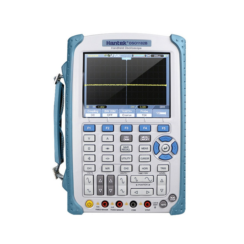 <font><b>Hantek</b></font> <font><b>DSO1102B</b></font> Digital Handheld Oscilloscope With 5.6 Inch TFT Color LCD Display Multimeter High Band Width 100MHz 1Gsa/S Hot image