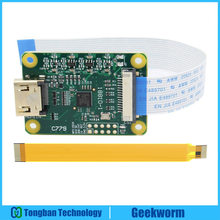 Raspberry Pi Hdmi to CSI-2 Adapter Board with 15 pin FFC cable, HDMI-inpute supports up to 1080p25fps