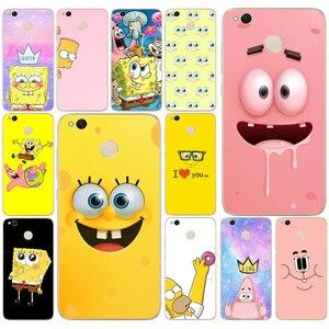 298 Spongebob Queen Princess Best Friends Soft Silicone Cover Case for Xiaomi Xiaomi Redmi 4a 5 plus Note 4 4x 5a pro mi a1 case(China)