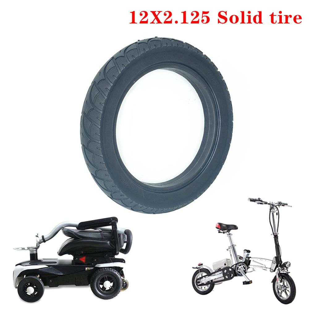 High Quatity Electric Scooter Solid Tire 12 1/2*2 1/4(57-203) Air Free Punctureproof Tyre
