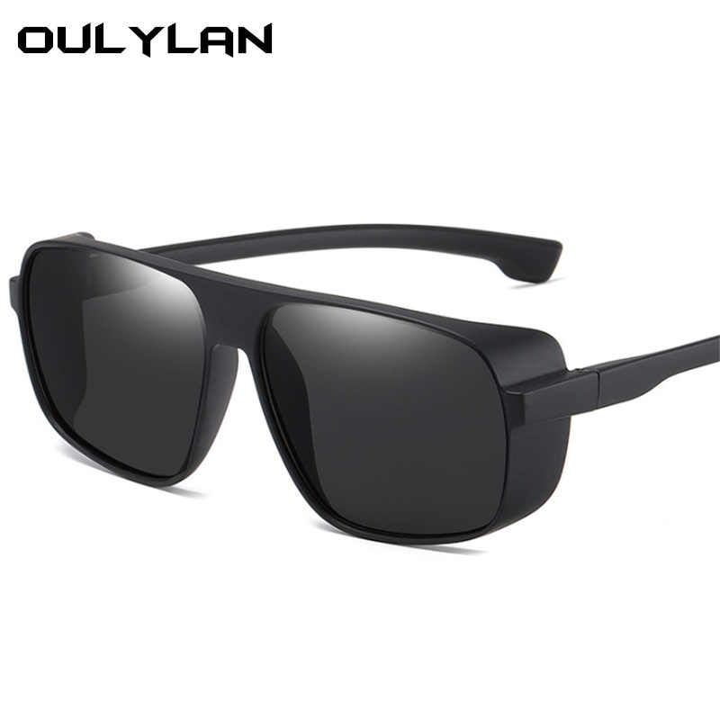 Oulylan Men Oversized Sunglasses Vintage Classic Driving Sun Glasses Women Fashion Square Eyeglasses Brand Designer Goggle UV400