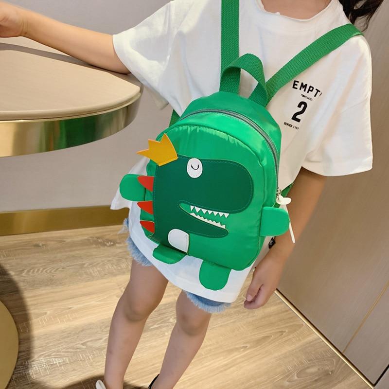 CHILDREN'S Bag 2019 New Style GIRL'S Boys' Backpack Cartoon Cute Dinosaur Backpack Hebei Province Card 8816