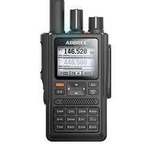 ABBREE AR-F8 gps расположение обмен всеми диапазонами(136-520 МГц) Частота/CTCSS обнаружения 1,77 lcd 999CH рация