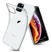 Clear Telefoon Case Voor iphone 11 Pro Max Cover TPU Transparant Coque Voor iphone X XS Max XR 7 8 Plus 7Plus 8 Plus 6 S 6 S Gevallen Funda Coque(China)