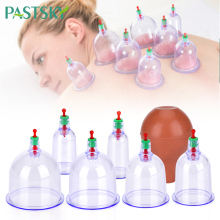 6Pcs/lot Full Body Massage Cupping Set massage jars Chinese Medical Vacuum Cans Therapy Cup Professional suction cup Acupuncture 100pcs lot smokeless moxa stick acupuncture massage moxibustion for chinese traditional body massage therapy