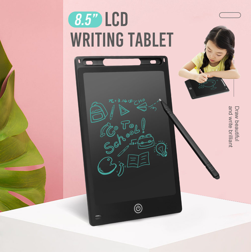 Baby Kids Toys 8.5inch Electronic LCD Writing Tablet Pad Office Memo Home Message Kids Drawing Birthday Christmas Gifts For Kid
