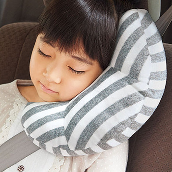 1 Pc Children Auto Car Seat Headrest Pad Shoulder Support Cushion Cotton Soft Sleep Pillow High Quality Neck - sale item Interior Accessories