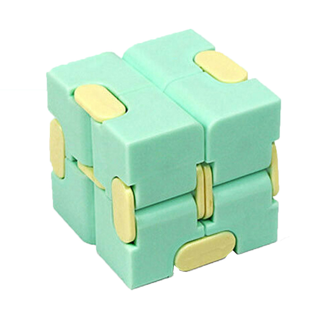 Fidget-Toys Antistress-Toy Decompress Fingertips Puzzle Magic Square Lightweight Portable img2