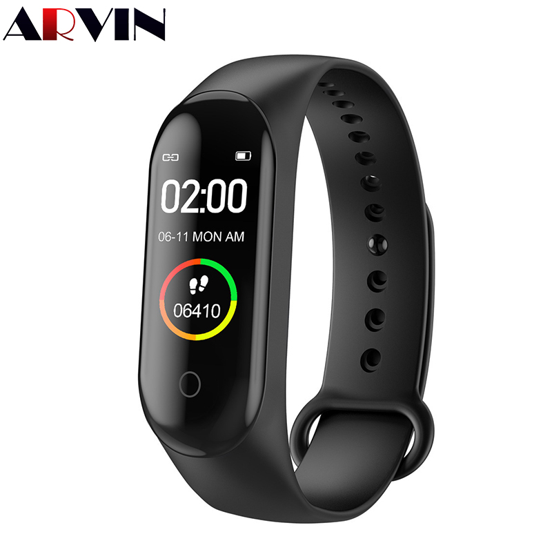 M4 Smart Band Wristbands Fitness Tracker Health Heart Rate Blood Pressure Bluetooth Sports Bracelet smartband