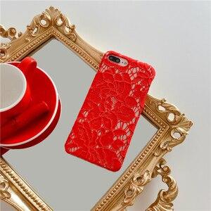 Красивый кружевной чехол для телефона iPhone SE 2020 11Pro Max XR XS Max 7 8 Plus, цветной сексуальный кружевной чехол-накладка для iPhone 11 11Pro