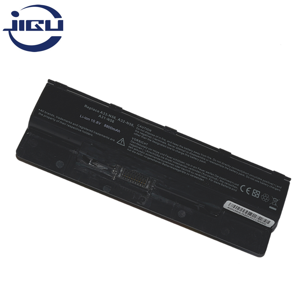 JIGU WHOLESALE New 12Cells Laptop <font><b>Battery</b></font> For <font><b>Asus</b></font> N46 <font><b>N46v</b></font> N46VJ N56 N56D N56V N76 N76V A31-N56 A32-N56 A33-N56 image