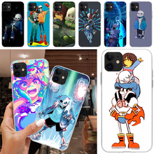 Viviana funny undertale papyrus sans doggo DIY Phone Case For iPhone 5C 5 5S SE 7 8 plus X XS XR XS MAX 11 11 pro 11 Pro Max(China)