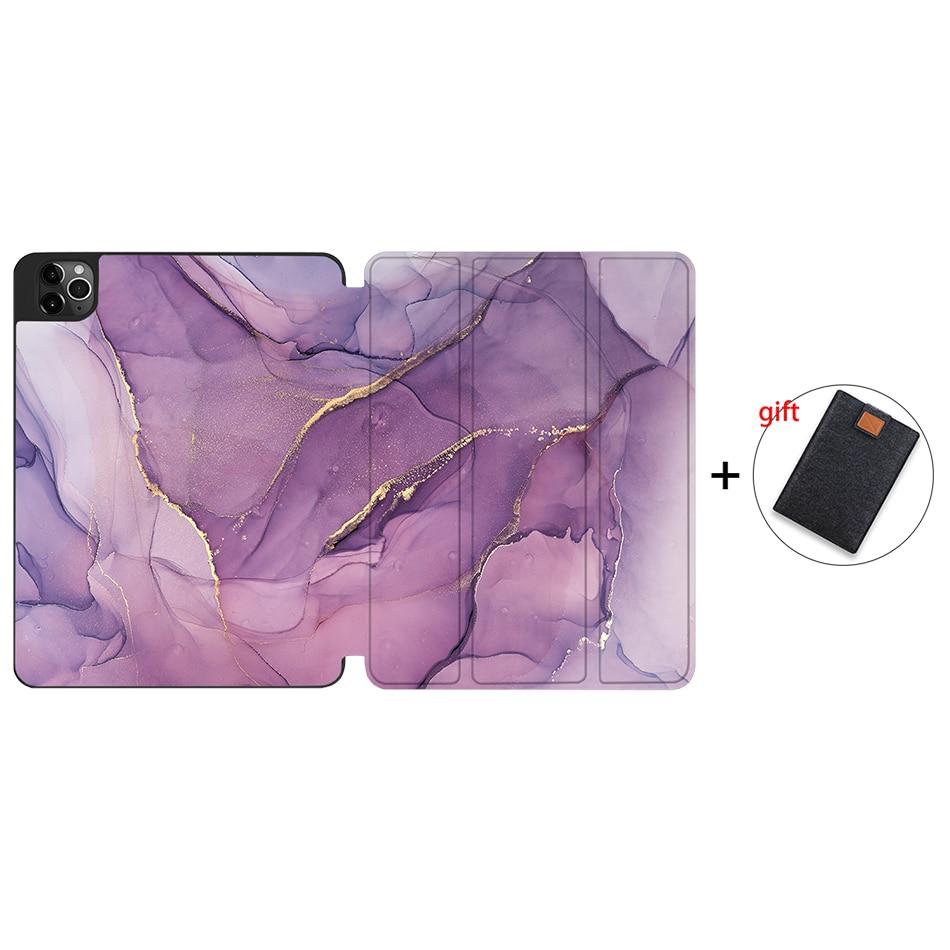 IPTPU07 Yellow MTT Soft TPU Case For iPad Pro 11 inch 2nd Gen 2020 Tablet PU Leather Flip