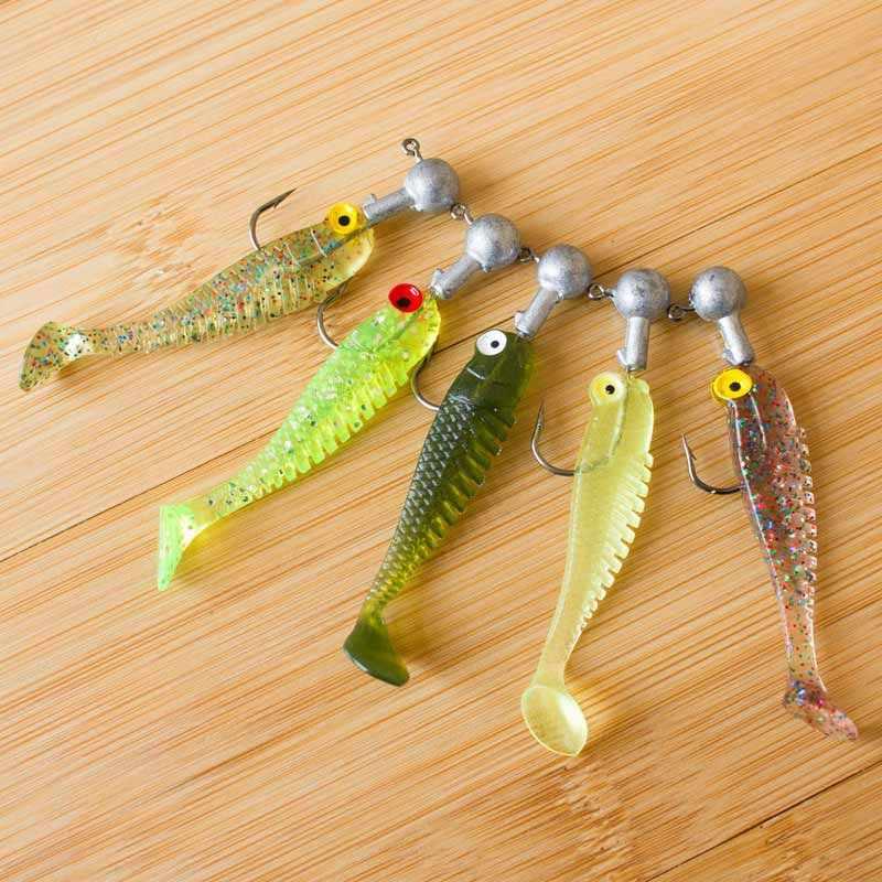 لو يا الطعم مجموعة مضيئة الأسماك الصغيرة الطريق لينة الطعم المصنع مباشرة وهمية إغراء لينة الأسماك الكترونية الطعم الرصاص مجموعة خطفات مربع