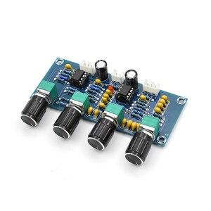 Image 5 - Dual NE5532 Repalceable tone Preamp Board Audio treble bass adjustment equalizer Pre amplifier Tone Control Preamplifier
