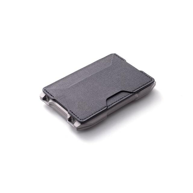 2021 New Fashion RFID Metal Cardholder Wallet Men Business Badge Credit Card Holder Small Aviator Minimalist Wallet for Card Man 2