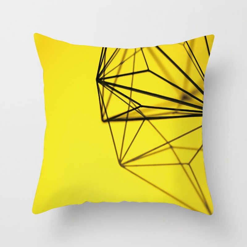 Fuwatacchi Необычные с геометрическим узором Чехлы для подушек алмазные Квадратные наволочки для автомобиля спальни дивана декоративные хлопковые Чехлы для подушек