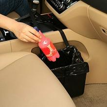 Car Trash Bin Car Garbage Can Portable  Waterproof Litter Hanging Seat Trash Bin