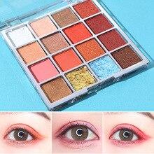 16 Colors eye makeup Matte Eyeshadow Palette Nude eyeshadow