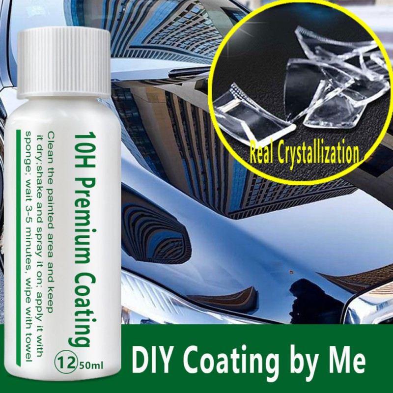 10H Car Oxidation Liquid Ceramic Coat Super Hydrophobic Glass Coating Set Polysiloxane And Nano Materials Care