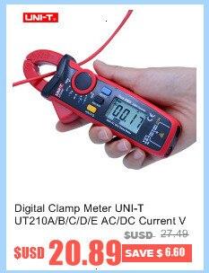 ruído de digitas do medidor UNI-T ut352